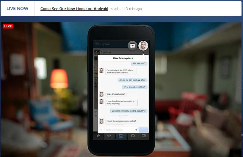 FB Home Messaging2