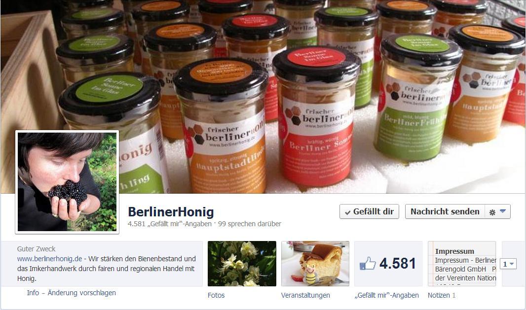 BerlinerHonig Facebook