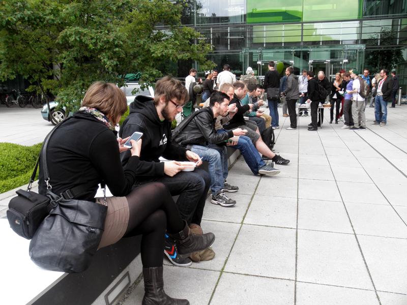 MobileCamp2013---Mittagspause