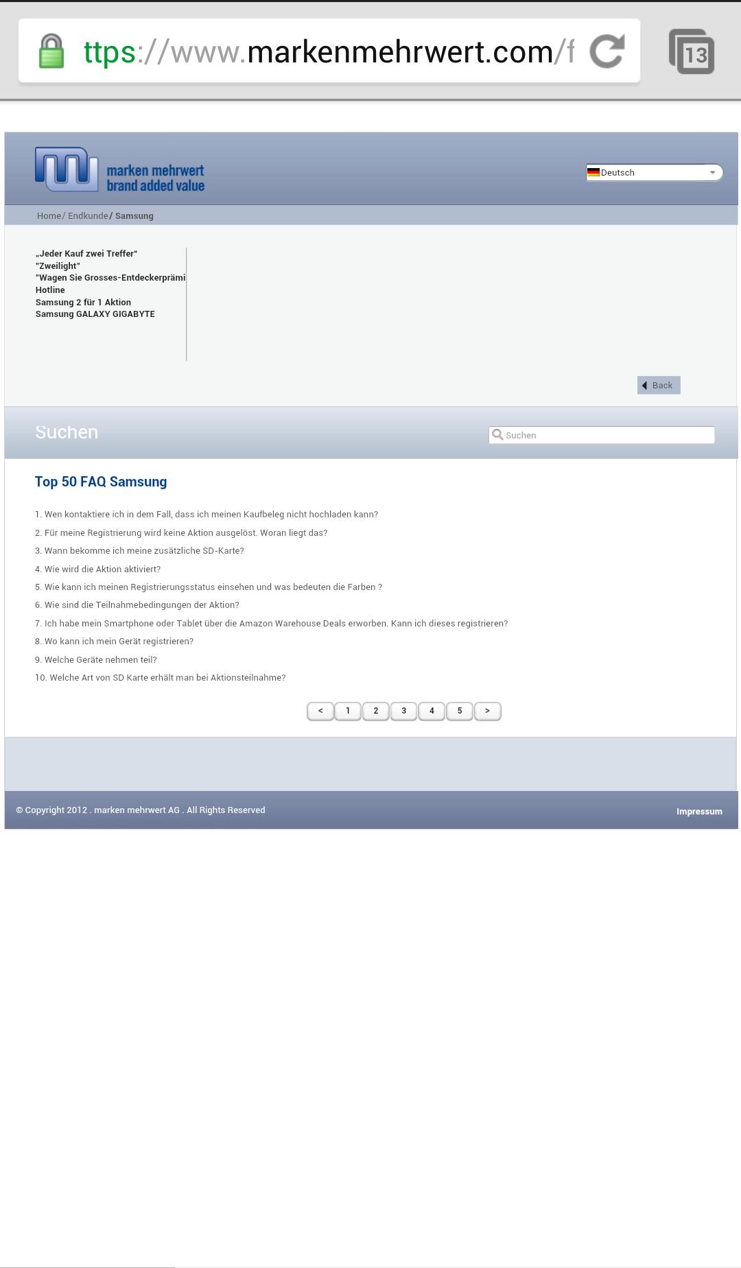 Schritt 3-3 registrieren