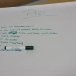 Herausarbeiten von Pros und Contras in der Gruppe