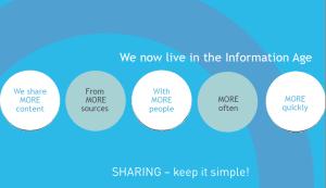 Sharing - keep it simple