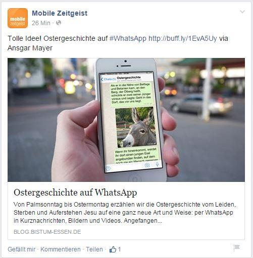 WhatsApp Ostergeschichte