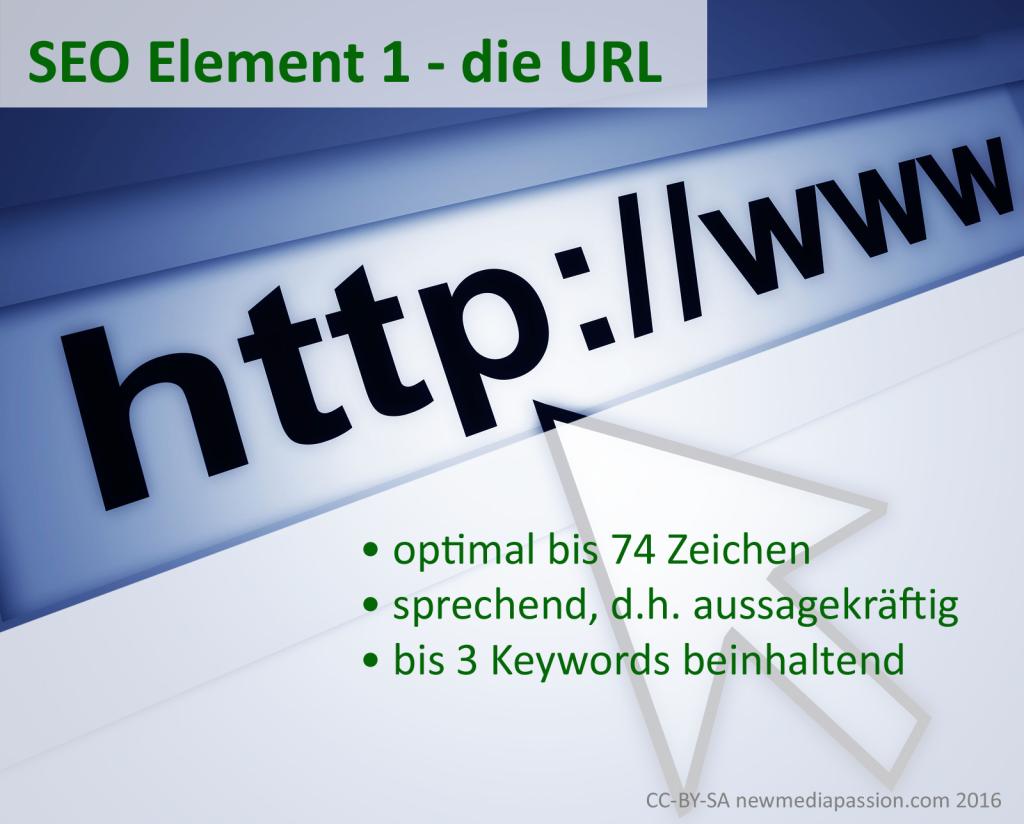 Merkmale einer optimalen URL