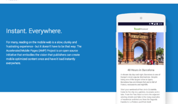 AMP Accelerated Mobile Pages Project