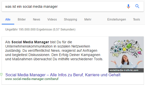Direct Answer - Was ist ein Social Media Manager