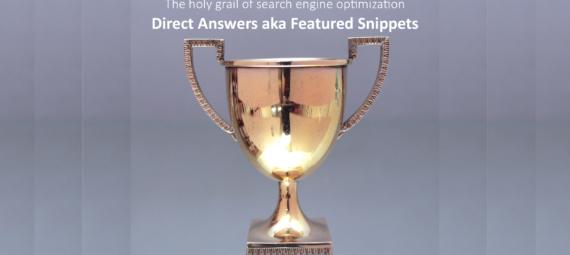 Direct Answers - der heilige Gral der Suchmaschinenoptimierung-CC-BY-SA-20