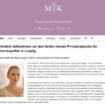 Referenz newmediapassion - Praxis Monika Kölsch