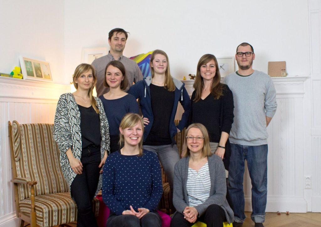 Das Team um Librileo